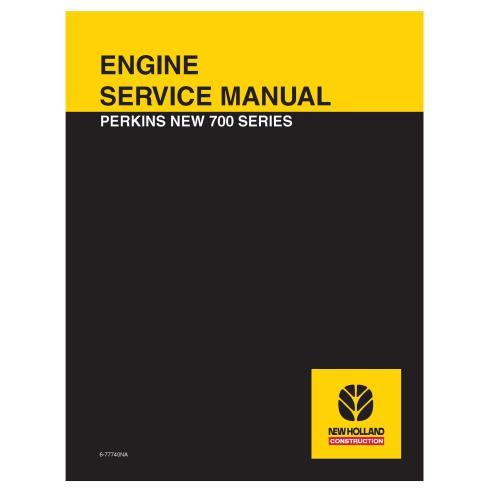 Manual de serviço do motor da nova série 700 da Perkins - Perkins manuais