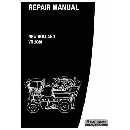 Manual de reparación de la cosechadora de uva New Holland VN 2080 - Agricultura de New Holland manuales