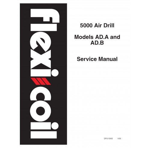 New Holland Flexi-Coil 5000 air drill service manual - New Holland Agriculture manuals