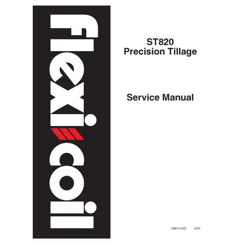 New Holland Flexi-Coil ST820 Manuel d'entretien du travail du sol de précision - Agriculture de New Holland manuels