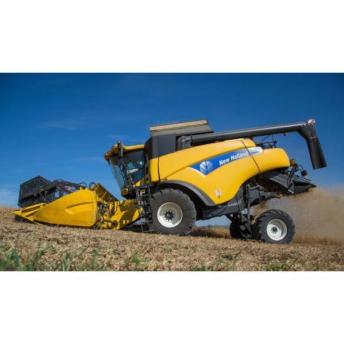 Manual de reparo da colheitadeira New Holland CR9040 / CR9060 / CR9070 - New Holland Agriculture manuais