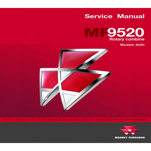 Massey Ferguson 9520 combine service manual - Massey Ferguson manuals