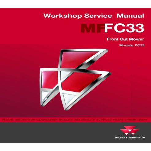 Manual de servicio del taller del transportador comercial Massey Ferguson FC33 - Massey Ferguson manuales