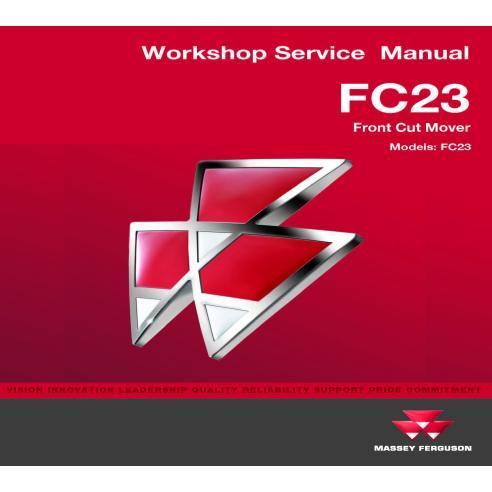 Manual de serviço de oficina para motores comerciais Massey Ferguson FC23 - Massey Ferguson manuais
