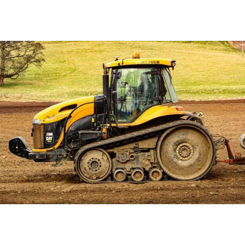 Manuel d'entretien du tracteur Challenger MT735, MT745, MT755, MT765, MT745B, MT755B, MT765B - Challenger manuels