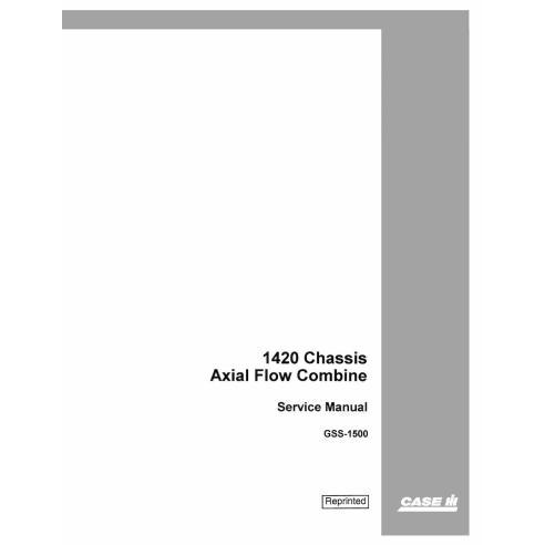 Manual de servicio de la cosechadora Case Ih 1420 - Case IH manuales