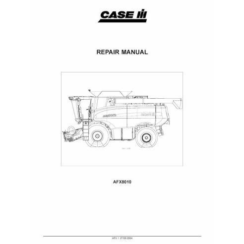 Manual de reparo da colheitadeira Case Ih AFX8010 - Case IH manuais