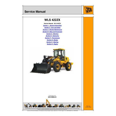 Jcb WLS 422ZX loader service manual - JCB manuals