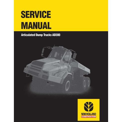 Manual de serviço do caminhão articulado New Holland AD300 - New Holland Construction manuais