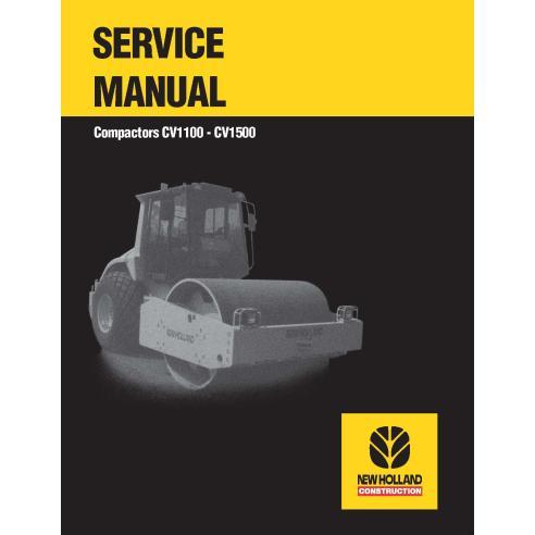 Manuel d'entretien du compacteur New Holland CV1100 / CV1500 - Construction New Holland manuels