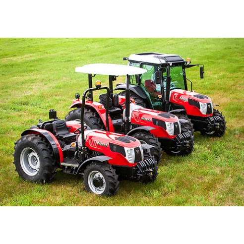 Manual de servicio del tractor Valtra A53 / A63 / A73 - Valtra manuales