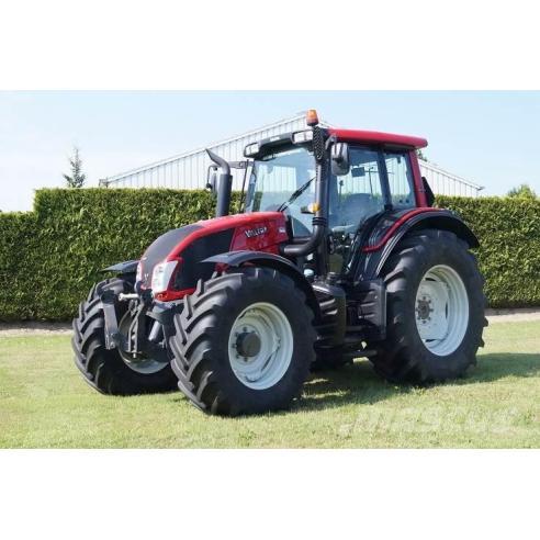 Manual de servicio del tractor Valtra N103 / N113 / N123 / N143 - Valtra manuales
