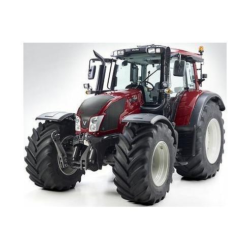 Manual de servicio del tractor Valtra T121c - T171c, T121h - 191h, T151LS - T191LS - Valtra manuales