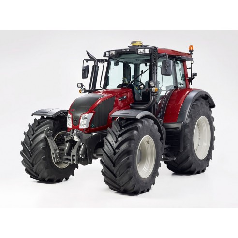 Manual de servicio del tractor Valtra T133 H / T153 H / T173 H / T193 H - Valtra manuales