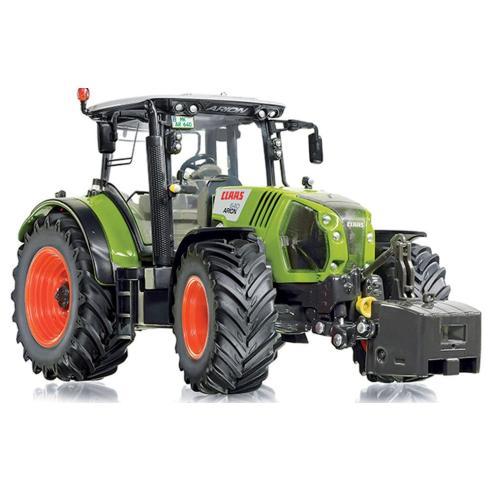 Manual del operador del tractor Claas Arion 510-540 CIS, 610-640 CIS - Claas manuales