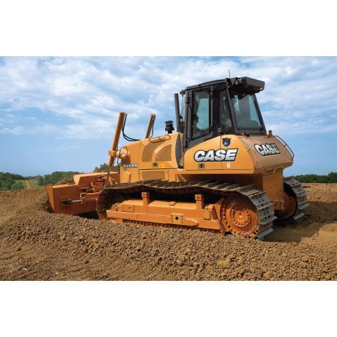 Manuel d'atelier pour bulldozer sur chenilles Case 1850K Tier 2 - Case manuels