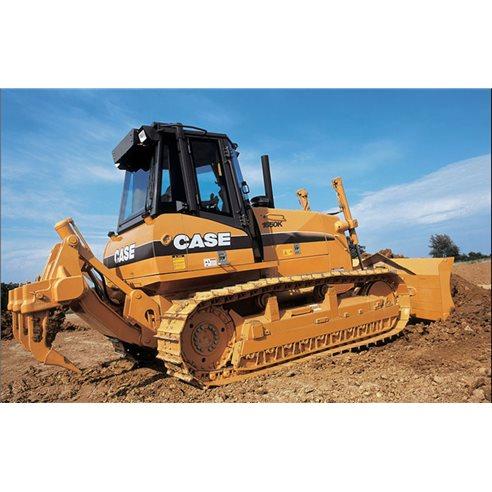 Manuel d'atelier pour bulldozer sur chenilles Case 1650K - Case manuels