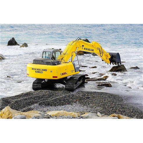 Manuel d'atelier des pelles New Holland E265B, E305B - Construction New Holland manuels