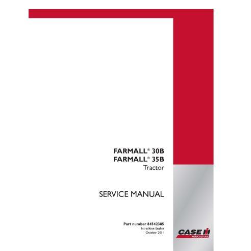 Case IH Farmall 30B, 35B tractor compacto manual de servicio PDF - Case IH manuales