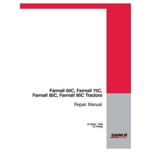Case IH Farmall 65C, 75C, 85C, 95C tractor pdf manual de reparación - Case IH manuales