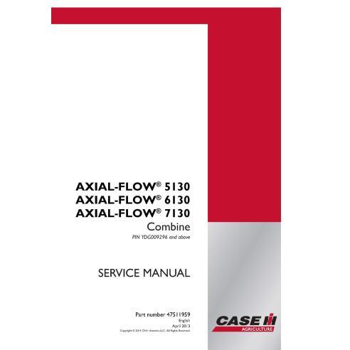 Case IH Axial-Flow 5130, 6130, 7130 cosechadora manual de servicio pdf - Case IH manuales