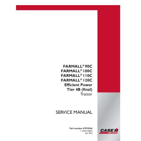 Case IH Farmall 90C, 100C, 110C, 120C Tier 4B tractor pdf service manual - Case IH manuals