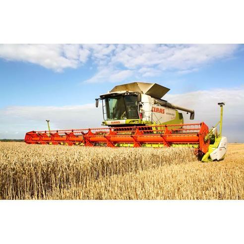 Manual de reparación de la cosechadora claas Lexion 570, 580, 600 - Claas manuales