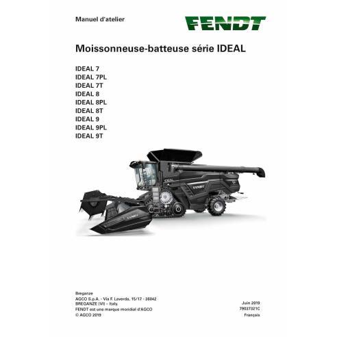 Fendt IDEAL SERIES 7/8/9 cosechadora pdf manual de servicio de taller FR - Fendt manuales
