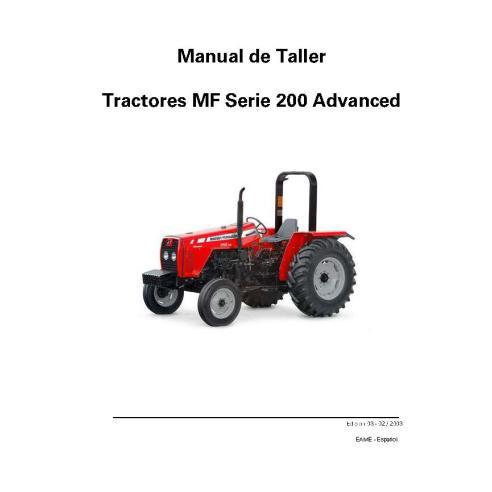 Massey Ferguson MF 250X, 265, 275, 283, 290, 292, 297, 299 tractor pdf taller manual de servicio ES - Massey Ferguson manuales