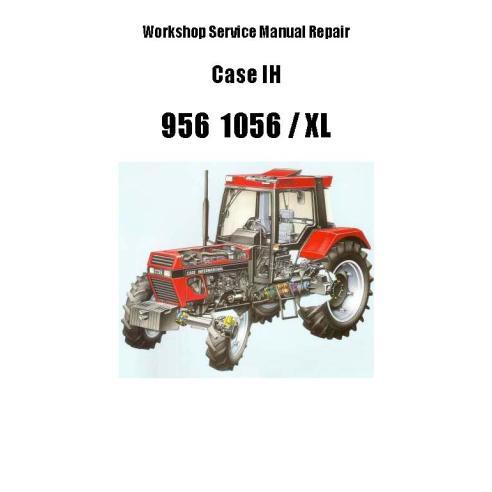 Manuel d'entretien de l'atelier PDF du tracteur Case IH 856, 1056 XL - Case IH manuels