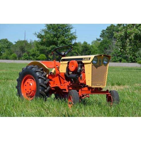 Tractor compacto Case IH 130, 180 manual de servicio pdf - Case IH manuales