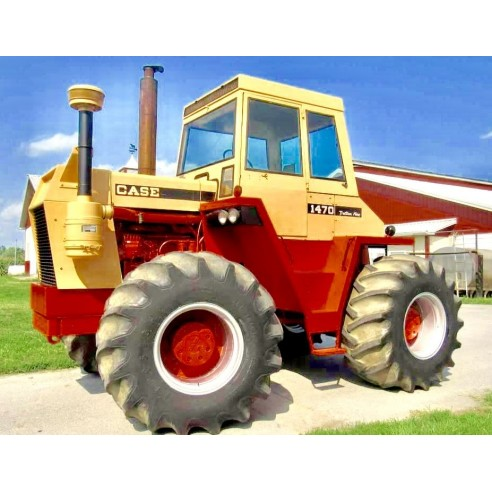 Case IH 1470 Traction King tractor pdf service manual  - Case IH manuals