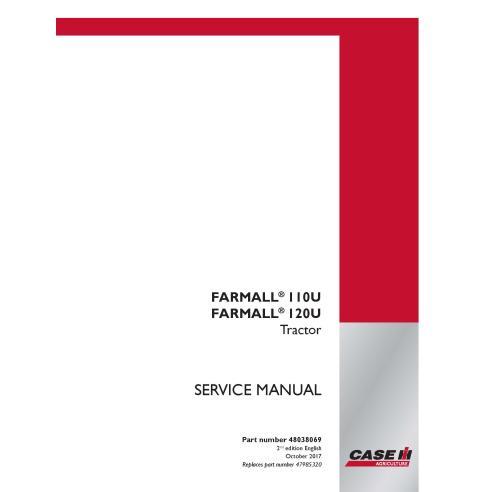 Manual de serviço pdf do trator Case IH Farmall 110, 120 - Case IH manuais