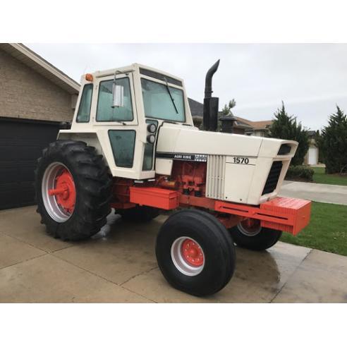 Case IH 1570 tractor pdf service manual  - Case IH manuals