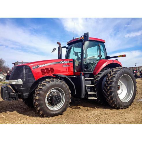 Case IH MX AND MAGNUM 215, 245, 275305 tractor manual de servicio pdf - Case IH manuales