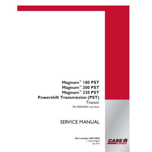 Manual de serviço pdf do trator Case IH MAGNUM 180, 200, 220 PST - Case IH manuais