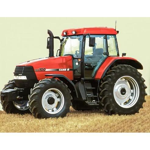 Case IH MX100, MX110, MX120, MX 135 tractor manual de servicio pdf - Case IH manuales