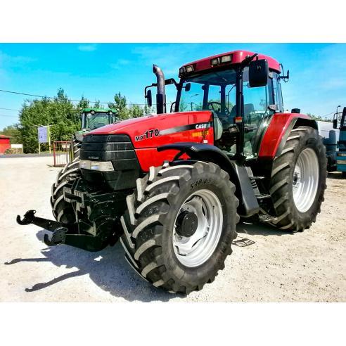 Manuel d'entretien du tracteur Case IH MX150, MX170 PDF - Case IH manuels