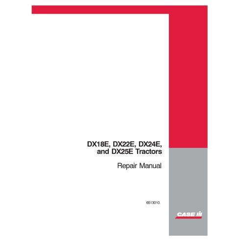 Manual de reparo pdf do trator Case IH DX18E, DX22E, DX24E, DX25E - Case IH manuais