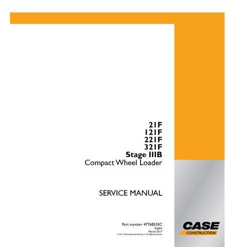 Chargeur sur roues compact Case 21F, 121F, 221F, 321F Stage IIIB PDF manuel de service - Case manuels