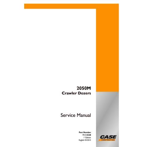 Case 2050M crawler dozer pdf service manual  - Case manuals