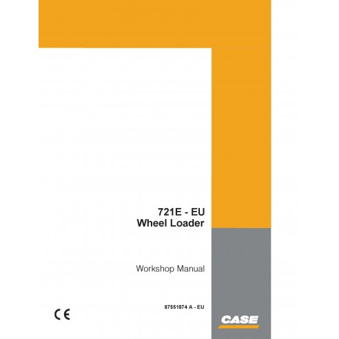 Case 721E - EU wheel loader pdf workshop manual  - Case manuals