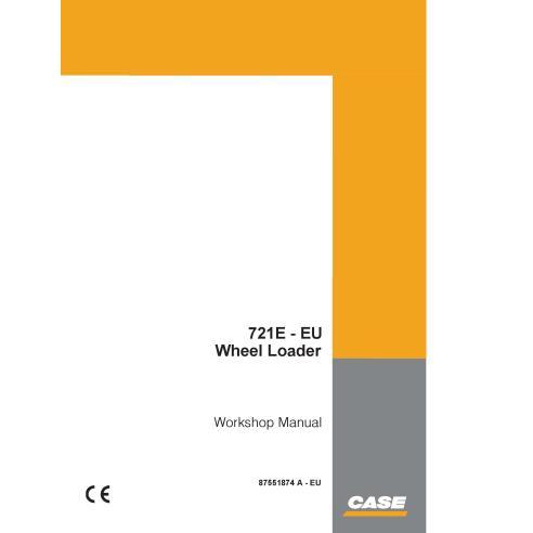 Case 721E - Manual de oficina em pdf para carregadeira de rodas da UE - Case manuais