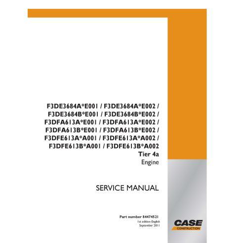 Case F3DE3684A series engine pdf service manual  - Case manuals