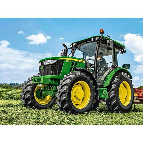 John Deere 5045E, 5055E, 5065E, 5075E tractor pdf operator's manual  - John Deere manuals