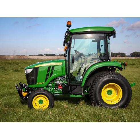 John Deere 4044M, 4049R, 4066M, 4044R, 4066R, 4052M, 4052R, 4049M compact tractor pdf diagnostic and repair manual  - John De...