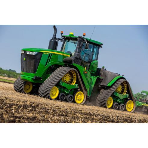 John Deere 9420RX, 9470RX, 9520RX, 9570RX, 9620RX tractor pdf operator's manual  - John Deere manuals
