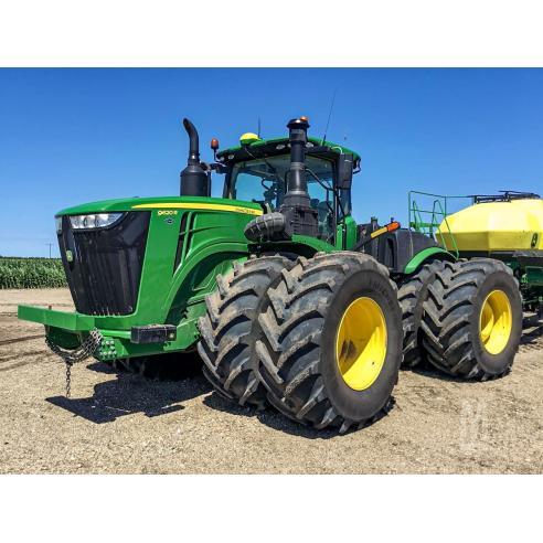 John Deere 9370R, 9420R, 9470R, 9520R, 9570R, 9620R tractor pdf operator's manual  - John Deere manuals