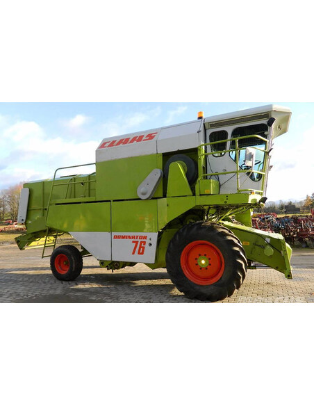 Claas Dominator 56 - 76 combine harvester operator's manual-Claas