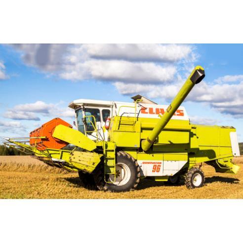 Manual de reparación de la cosechadora claas Dominator 56-106 - Claas manuales